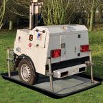 spilltrapper xtra large with lighting rig