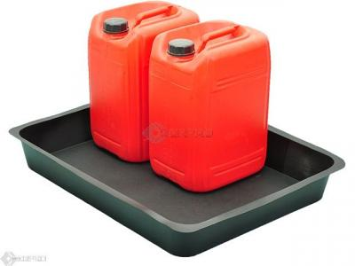 flexi drip tray with oil drums on