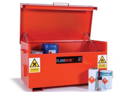 flambank fb2 hazardous storage box