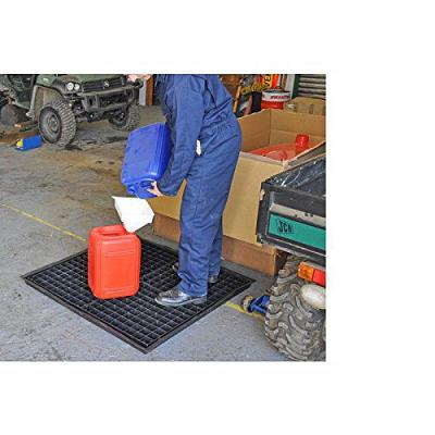 frexi drip tray and grid in use in workshop