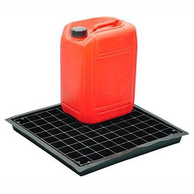 flexi drip tray with grid and container