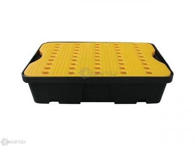 60 x 40cm 20 Litre Lab Spill Tray with Removable Grid