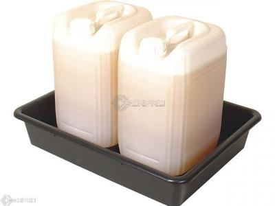 64 x 49cm Bunded Small Container Lab Tray with 25L containers