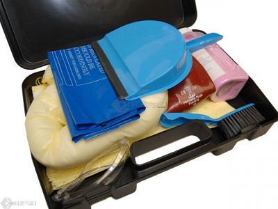 spill kit for battery acid