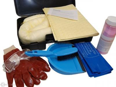 battery acid spill kit contents