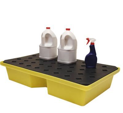 st60 spill tray with grid in use