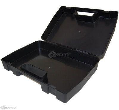 hard black plastic case inside