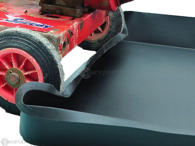 Flexi Tray - rubberised plastic drip tray
