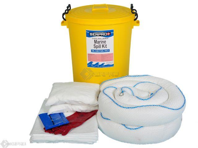 110 Litre Jetty Marine Oil Spill Kit