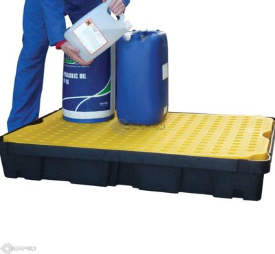 120 x 80cm 100 Litre Lab Tray with Removable Grid