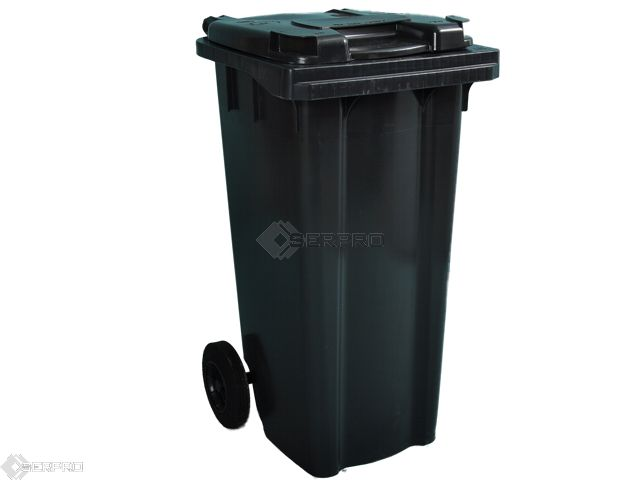 120 Litre Small Wheelie Bin GREY