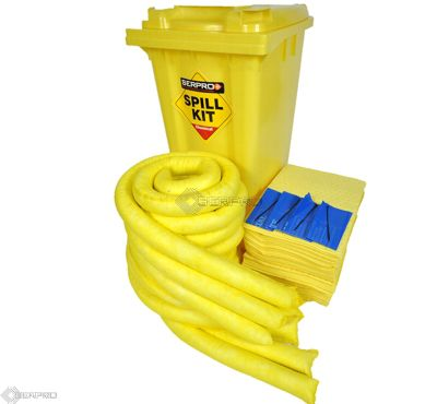 200 Litre Chemical/Universal Mobile Spill Kit