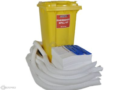 200 Litre Oil and Fuel only Mobile Spill Kit