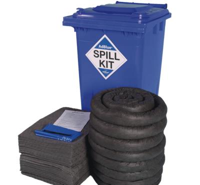240 Litre AdBlue Spill Kit in Wheeled Bin