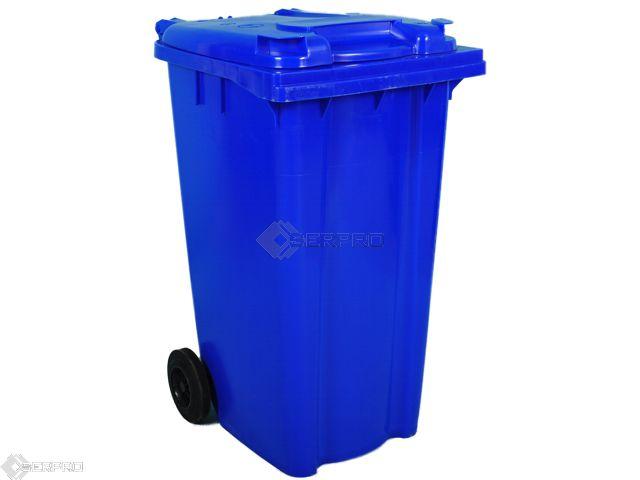 240 Litre Standard Wheelie Bin BLUE