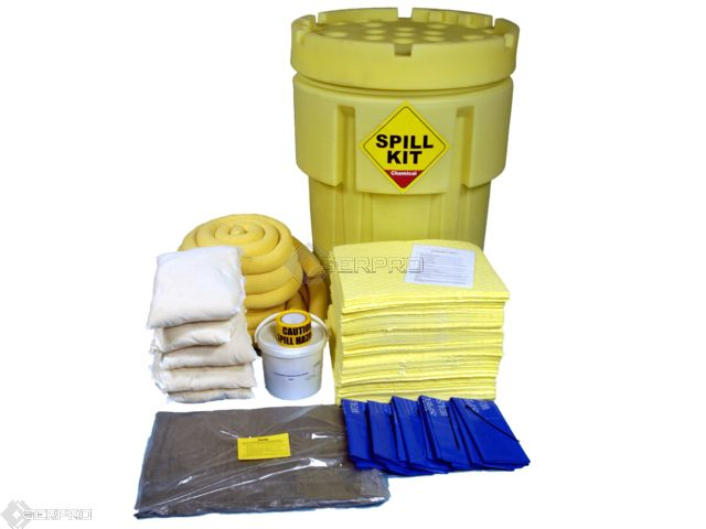 250 Litre Overpack Chemical Spill Kit
