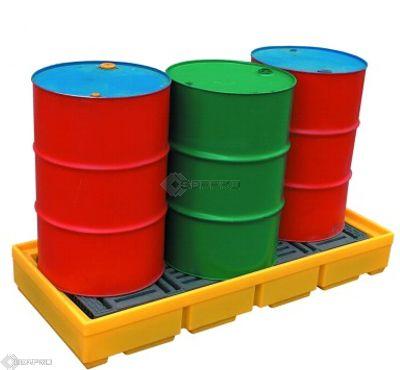3 Drum Inline Spill Pallet
