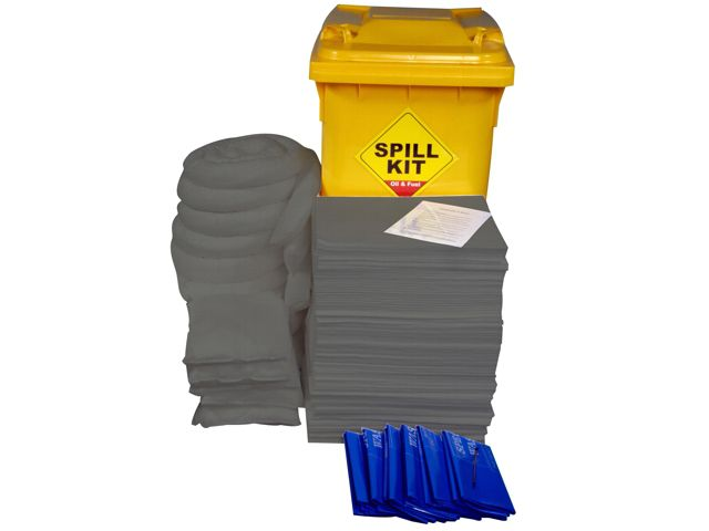 300 Litre General Purpose/Maintenance Mobile Spill Kit