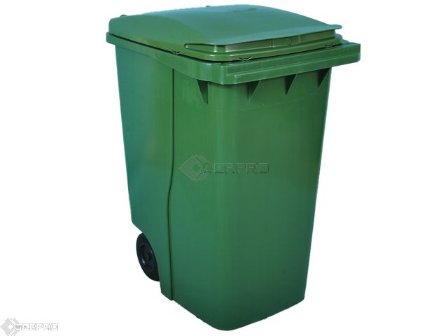 360 Litre Large Wheelie Bin GREEN