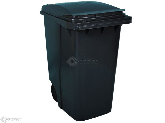 360 Litre Large Wheelie Bin GREY