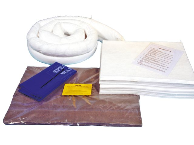 50 Litre Oil and Fuel Spill Kit with Drain Cover - REFILL PACK