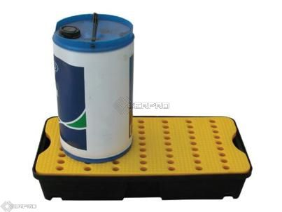 80 x 40cm 30 Litre Lab Spill Tray with Removable Grid