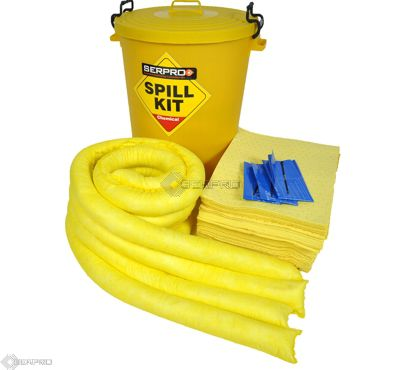90 Litre Chemical/Universal Plastic Drum Spill Kit