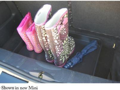 BMW Mini Car Boot Tray