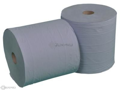 Blue Paper Roll Twinpack Pallet 48 Twin Packs