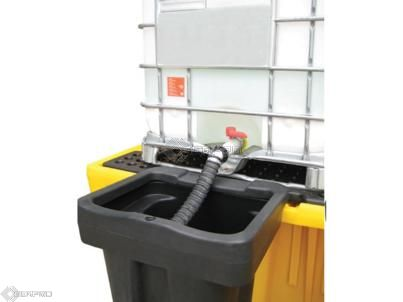 Detachable Overflow Bucket forTwin IBC Containment Bund 17704
