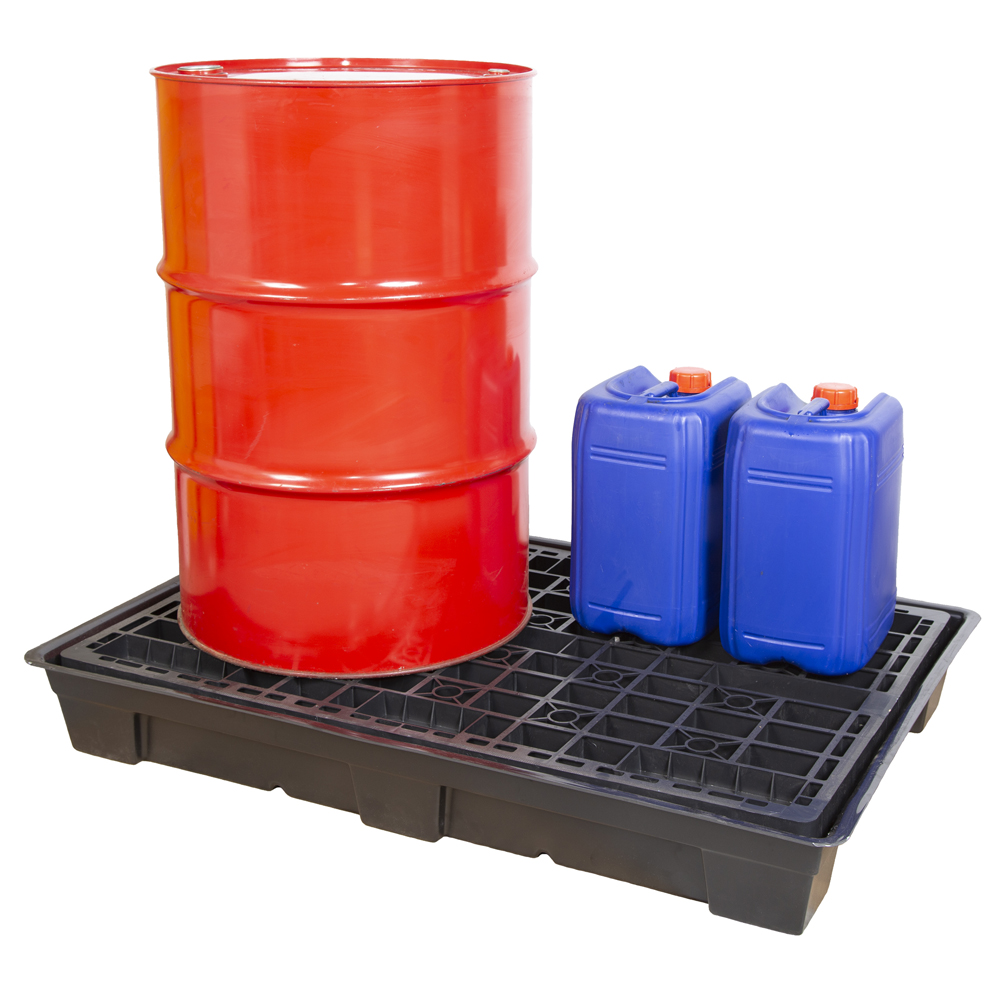 EVO Spillpallet for 2 x 205litre Drums
