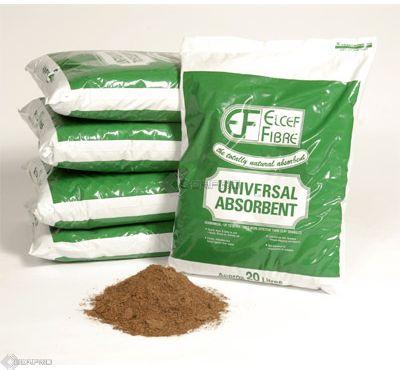 Elcef Oil Selective Absorbent Fibre Pallet 100 x 20L bags