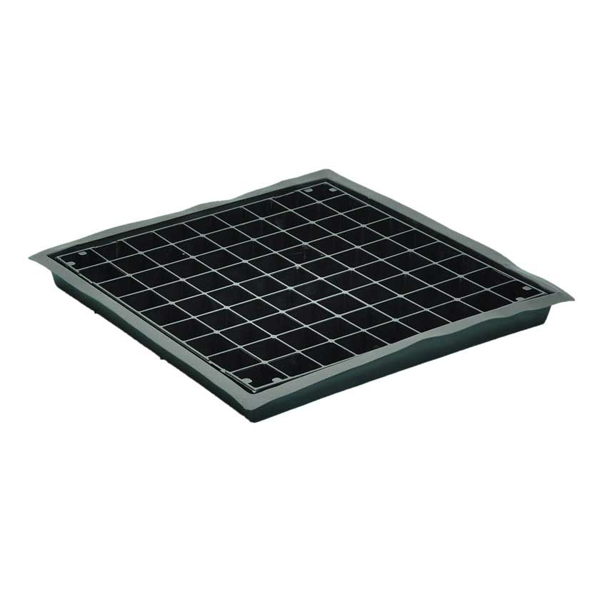 52 x 52 x 5 Flexi Tray with Grid