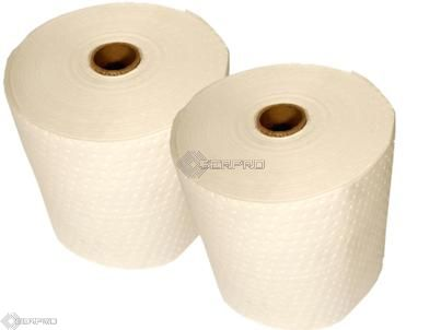 Heavyweight Bonded Oil Only Absorbent Roll Twin Pack