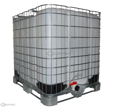 1000 Litre IBC Tank - Steel Pallet - (reconditioned)