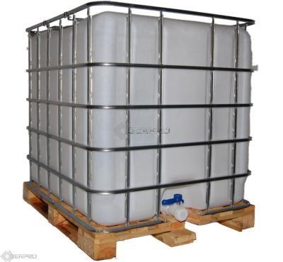 ibc storage tank on wooden pallet. Black Bedroom Furniture Sets. Home Design Ideas