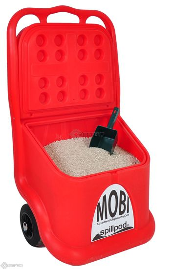 MOBI Caddy with Scoop (red)