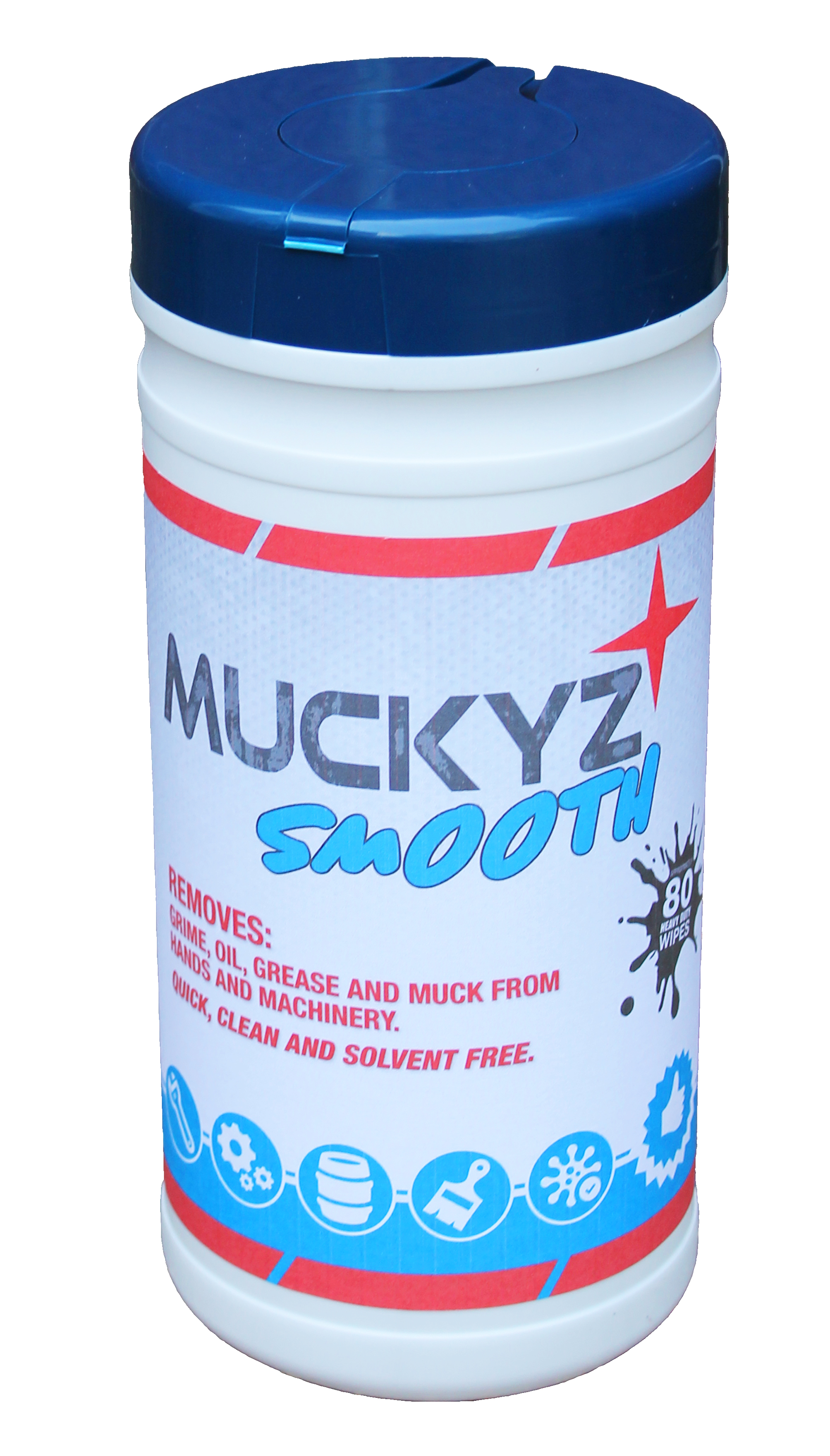 1 x Tub Muckyz Smooth Wipes