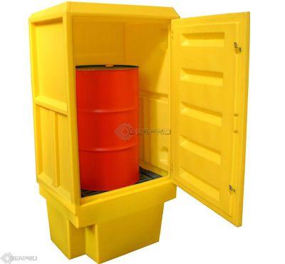 Polyethylene Storage Cabinet (size 3) - No Shelf