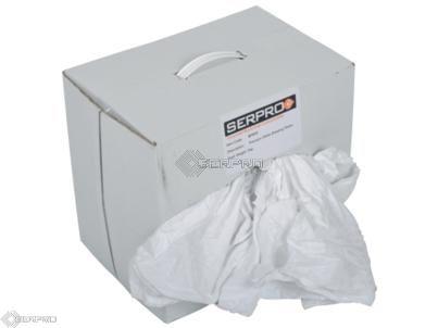Premium White Linen Rags Pallet 36 Boxes