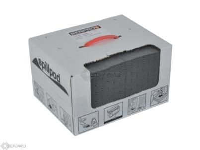 75 Spillpod Absorbent Pads Boxed