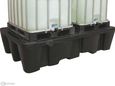 Twin IBC Containment Unit (BLACK)