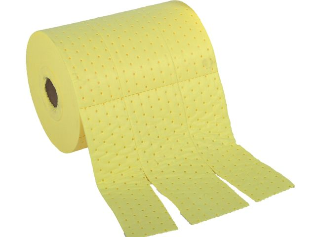 Chemical Absorbent Roll - 38cm x 46m Medium Weight Bonded