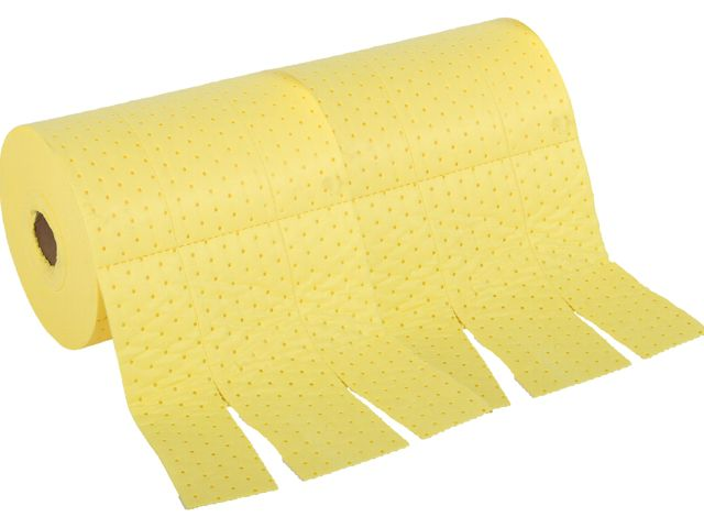 Chemical Absorbent Roll - 76cm x 46m Heavyweight Bonded