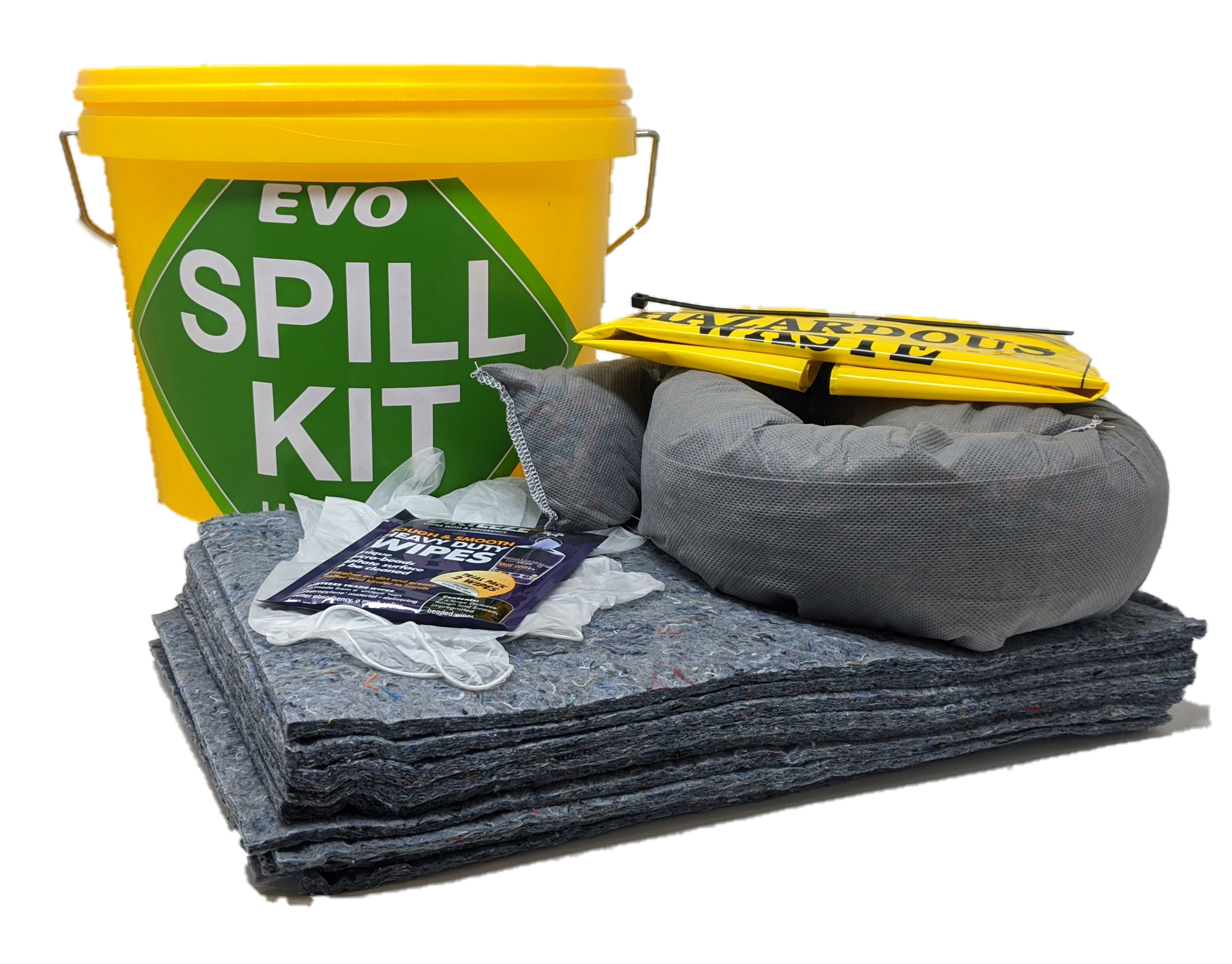 10 Litre EVO Mini Spill Kit in Tub