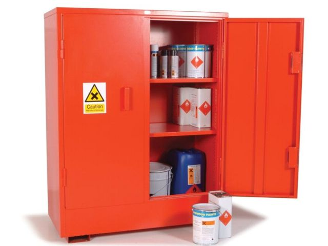 FLAMSTOR Large Hazardous Cabinet