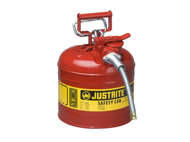 7.5 Litre Type II Steel Red Safety Can