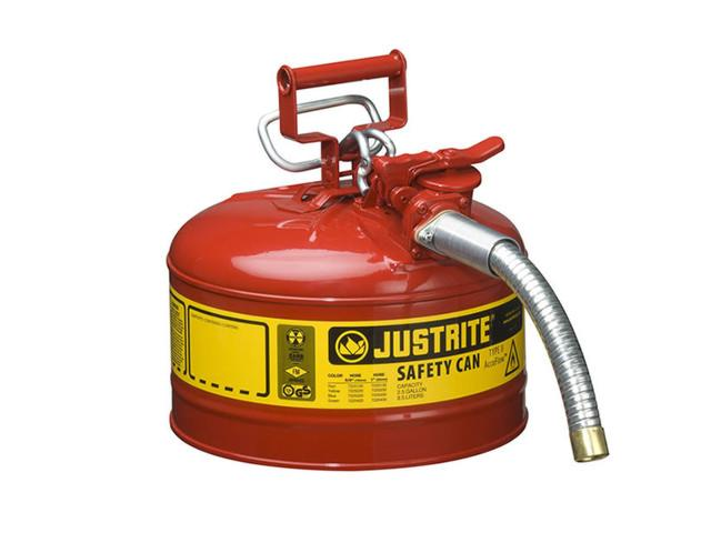 9.5 Litre Type II Steel Red Safety Can