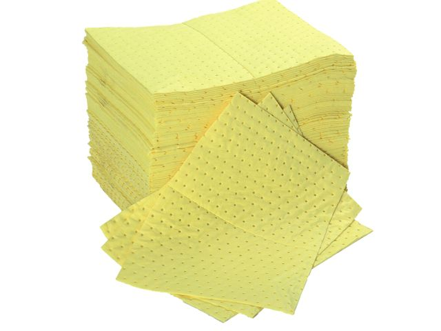 30 x Medium Weight Bonded Chemical Absorbent Pads