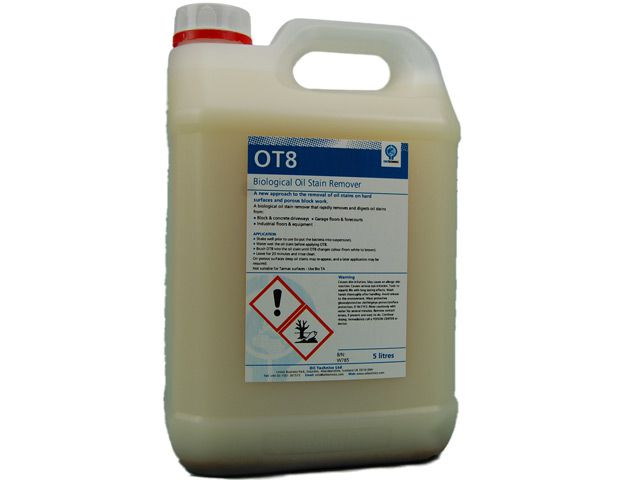 Concrete and Hard Surface Oil Stain Remover 5 Litres